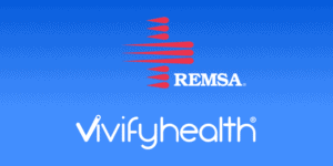 REMSA and Vivify Logo